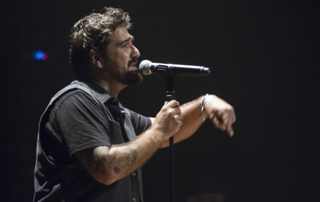 Primer concierto de la gira de Antonio Orozco