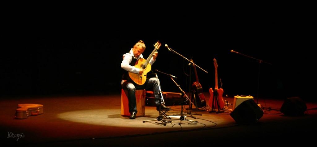 Albert Nuijten en el teatro Las Lagunas de Mijas / Foto: Deyanira Pijuan