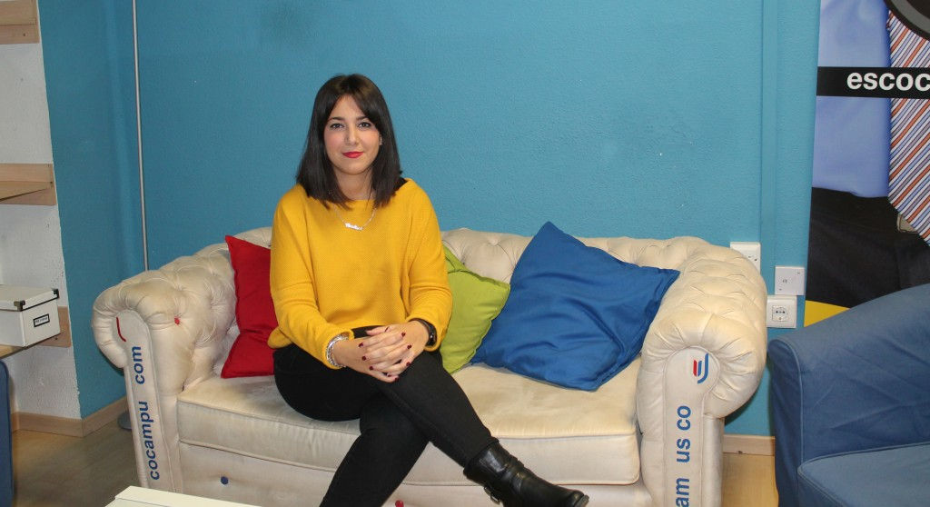 Cristina García, egresada de ESCO. Foto: Naomi Castro