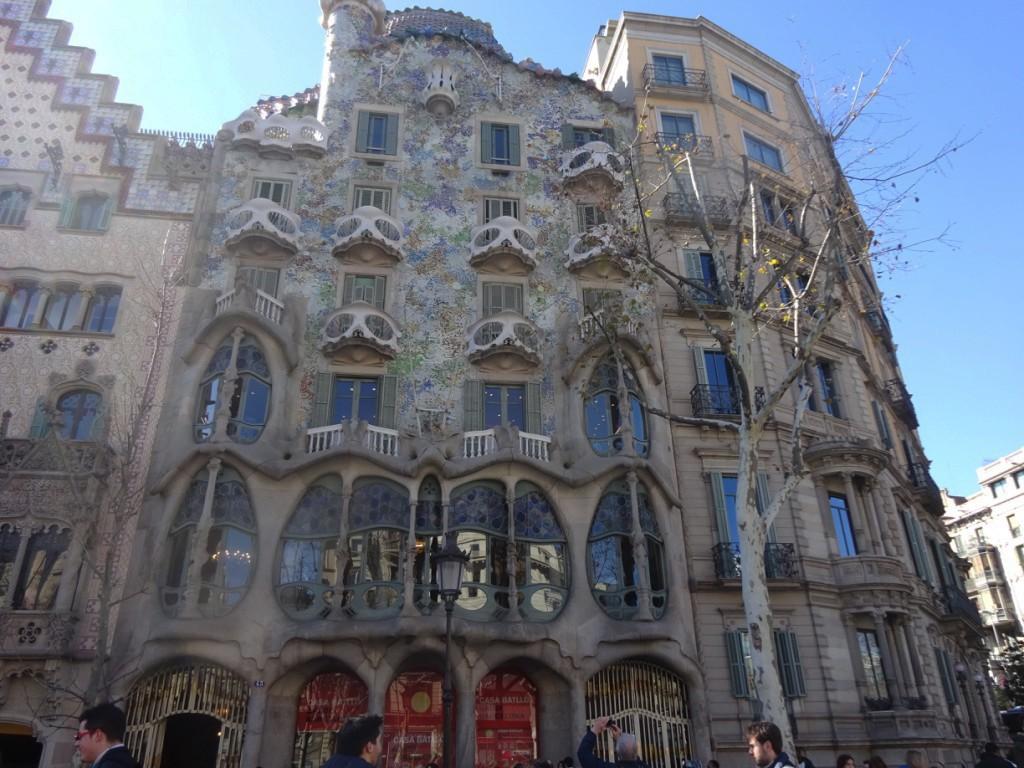 Casa Batlló. Foto: Cristina Luque