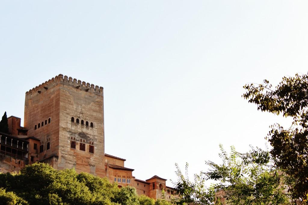 La Alhambra desde el paseo de los Tristes. Foto: Álvaro Barbero