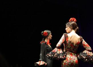 Inés de la Fuente presentó su nueva colección de moda flamenca. Fotos: Marta Díaz