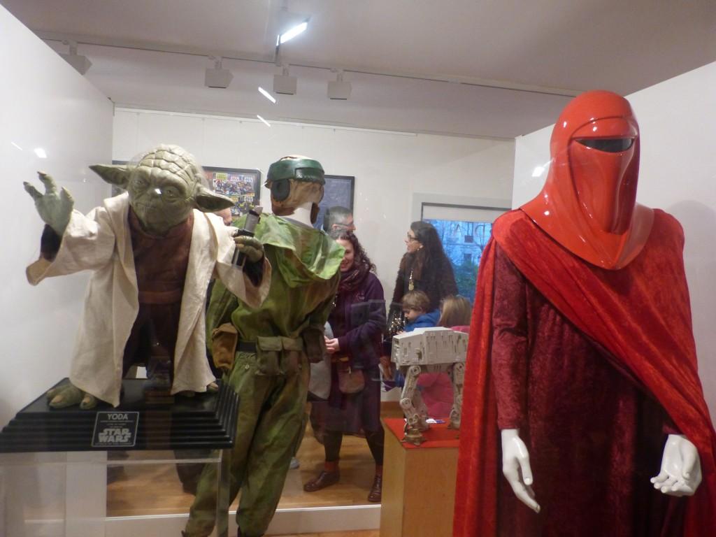 Yoda y Guardia Real del Emperador. Foto: Paula Ruiz