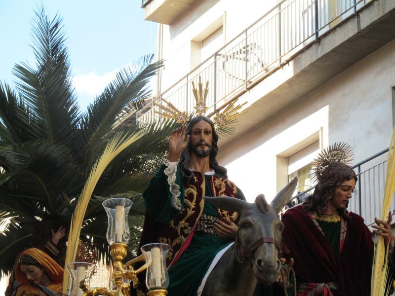 La Borriquilla. Foto: Álvaro Barbero