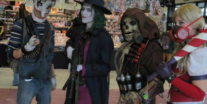 Cosplayers en Mangafest Granada 2016