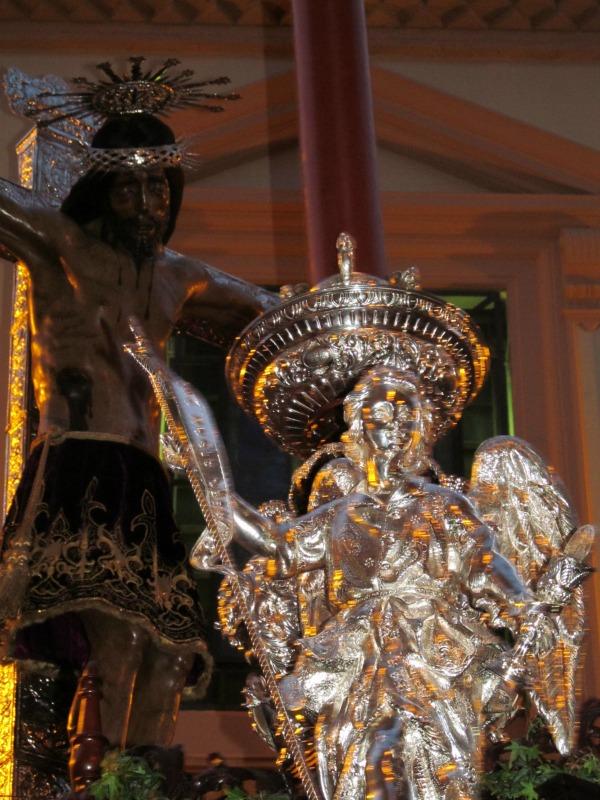 Cristo de San Agustín. Foto: Álvaro Barbero