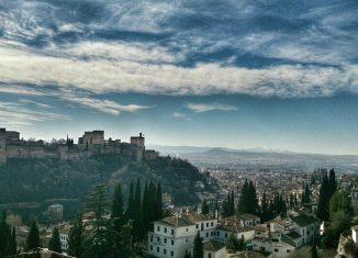 Vista de la Alhambra. Foto: Laura Cuadros