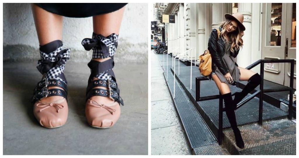 La (cómoda) tendencia de los ugly shoes continúa entre nosotras. Fotos: Pinterest, Tumblr y We heart it