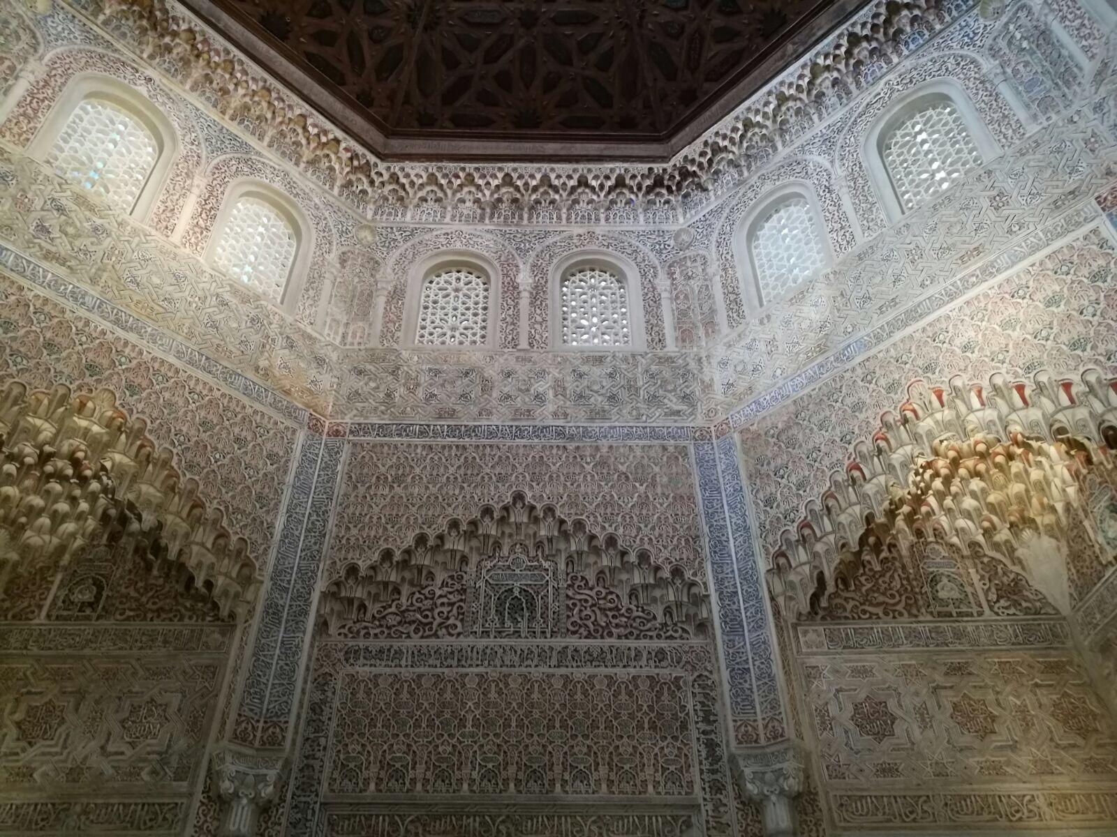 Fotografía del Palacio la Madraza, uno de los rincones más fotogénicos de Granada