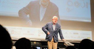 Carlos Maribona durante su intervención en Granada Gourmet. Fotos: Marina Ginés