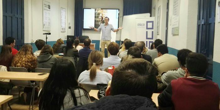 Juan Luis Muñoz Escassi reveló sus técnicas de motivación en ESCO