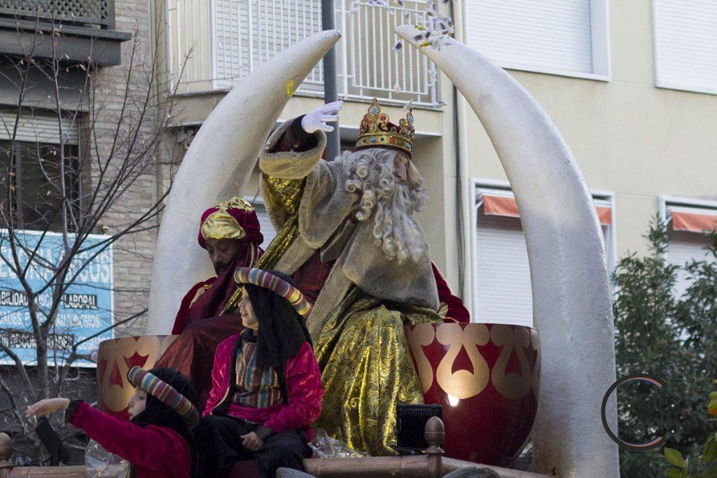 Los Reyes Magos ya están en Granada