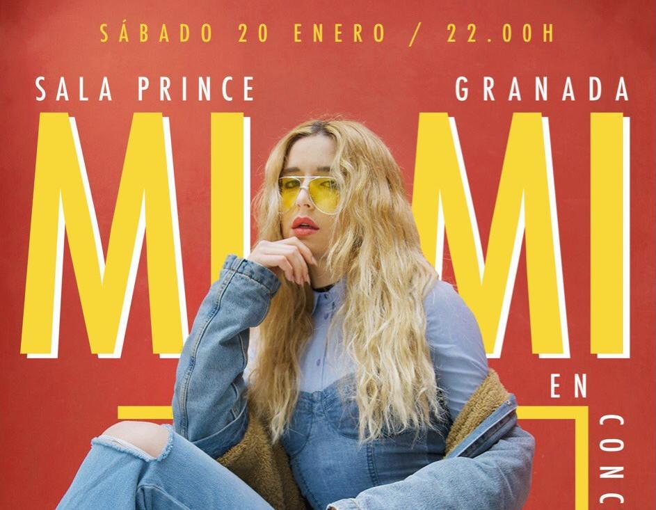 La cantante granadina de Operación Triunfo vuelve a Granada
