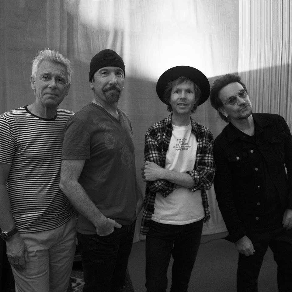 El grupo U2 llega a España
