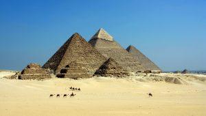 Pirámides de la necrópolis de Giza
