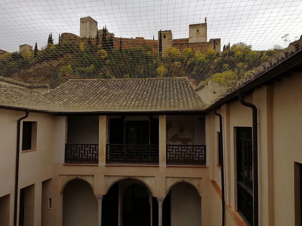 La Casa de Zafra tiene un gran valor paisajístico