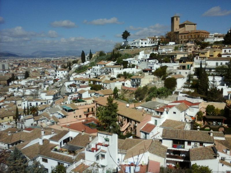 Vistas al Albaicín desde el palacio de Dar al-Horra. Fotos: Lorena Salvador